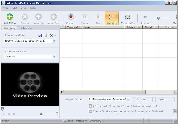 Sothink iPod Video Converter