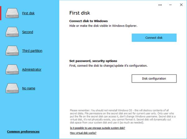 Secret Disk Professional