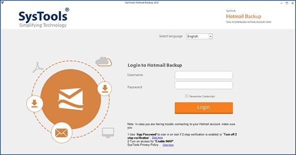 SysTools Hotmail Backup