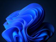 微软Win11正式版的默认壁纸以及全新LOGO解析:居中设计布局展现创意